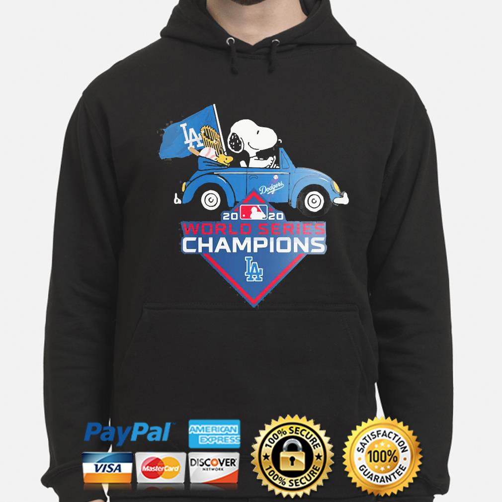 Snoopy Los Angeles Dodgers 2020 World Series Champion s hoodie