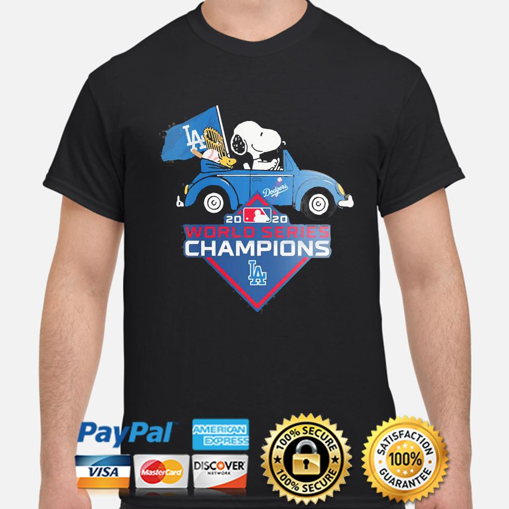 Snoopy Los Angeles Dodgers 2020 World Series Champion shirt