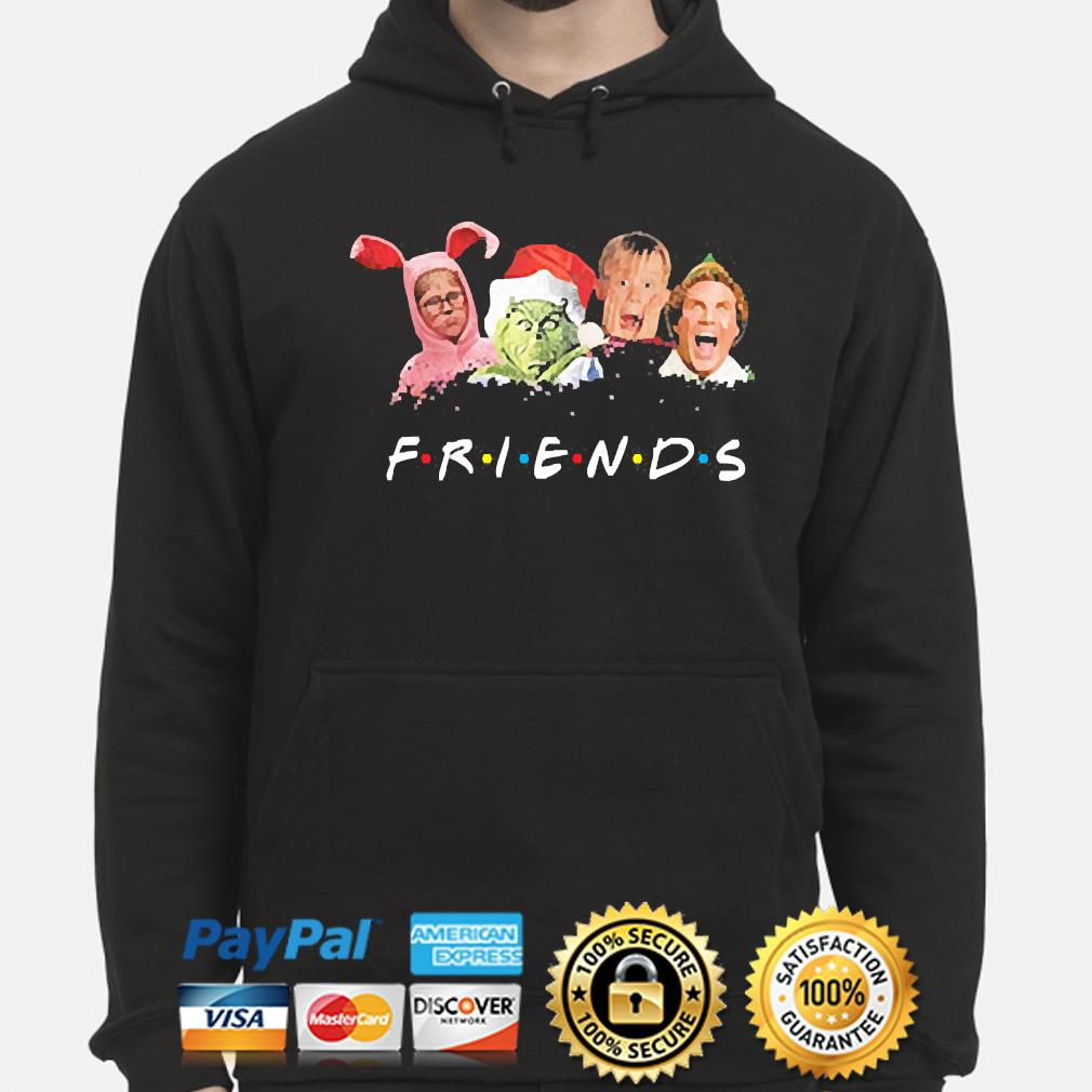 The Grinch and Friends Elf Christmas sweater hoodie