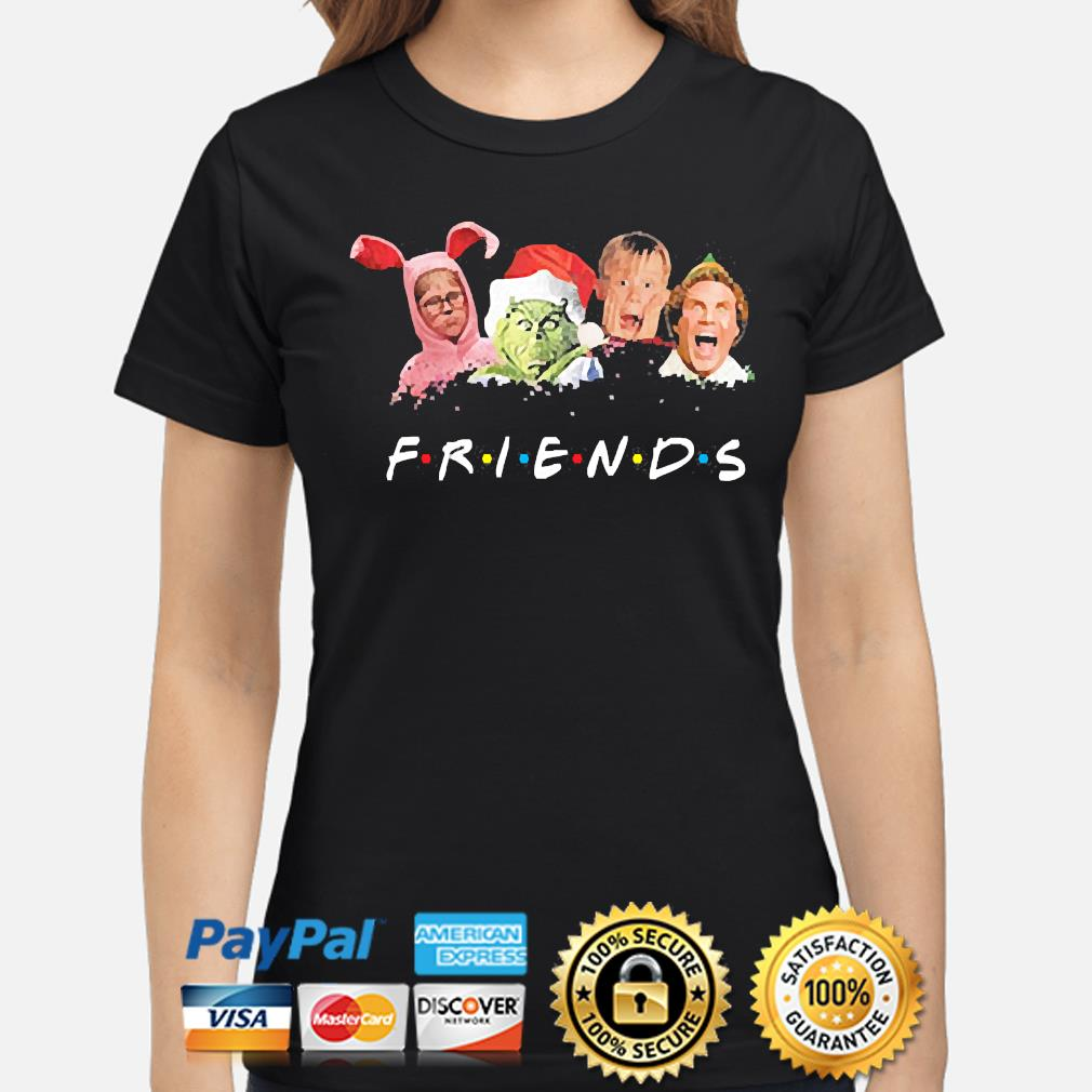 The Grinch and Friends Elf Christmas sweater ladies-shirt