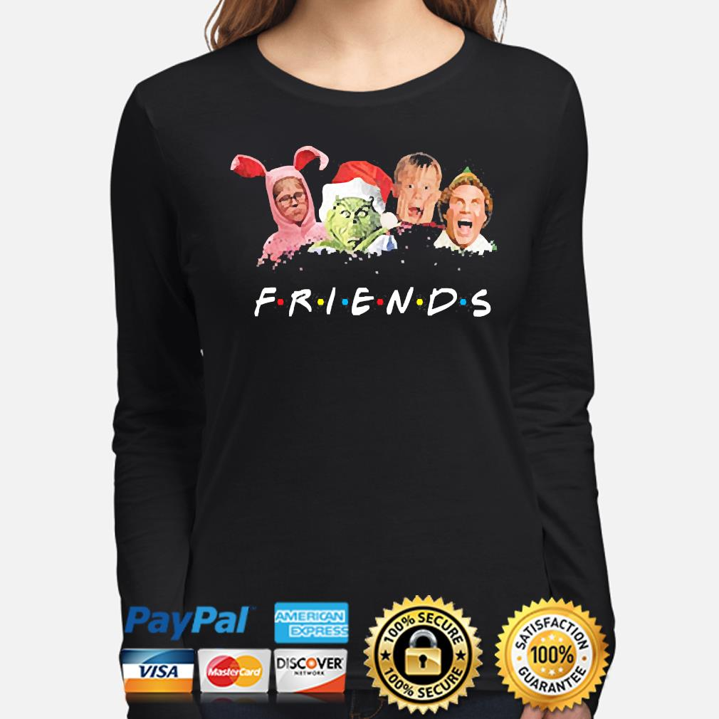 The Grinch and Friends Elf Christmas sweater long-sleeve
