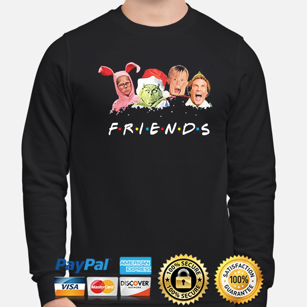 The Grinch and Friends Elf Christmas sweater sweater