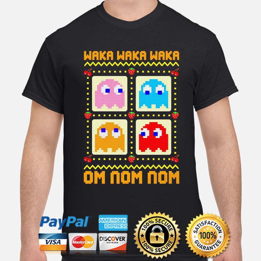 Waka Waka Waka Om Nom Non Ugly Christmas sweater