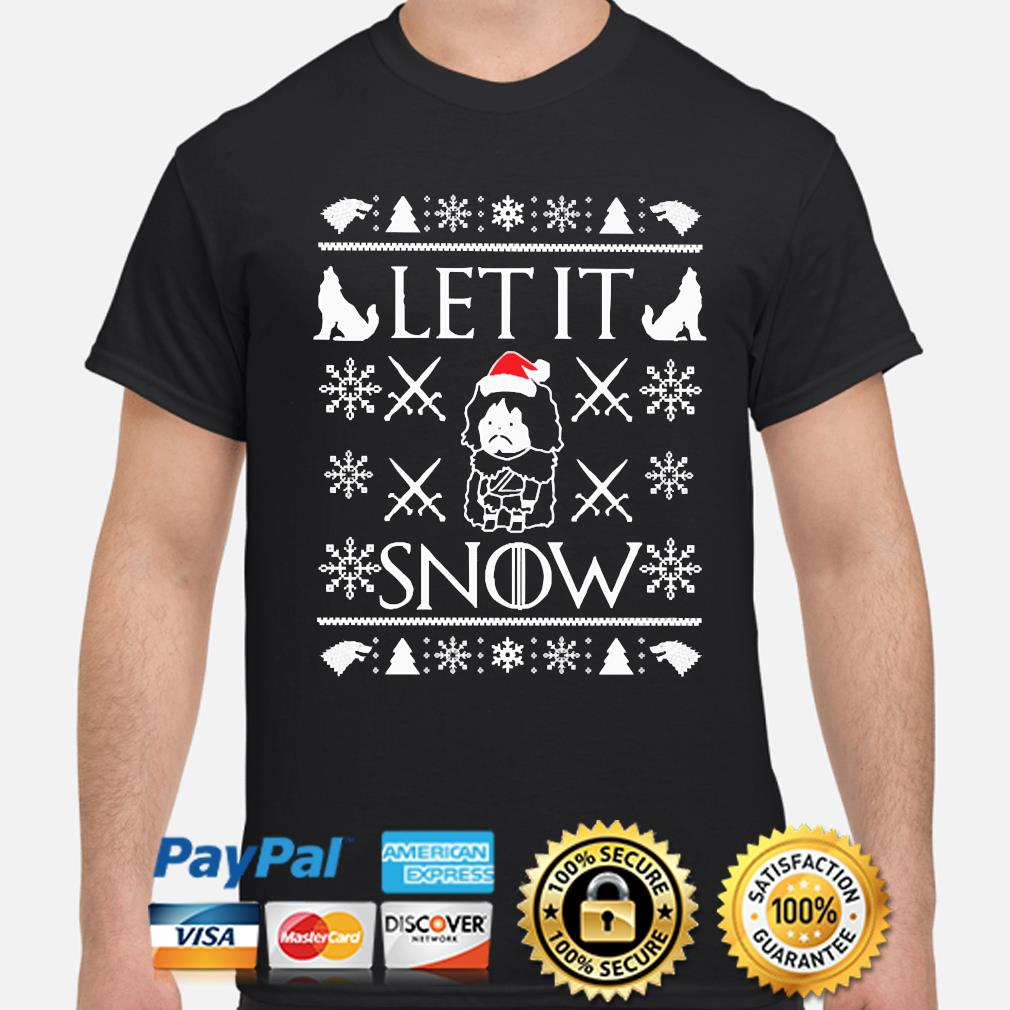 Walmart Cocaine Santa Let it Snow Ugly Christmas sweater