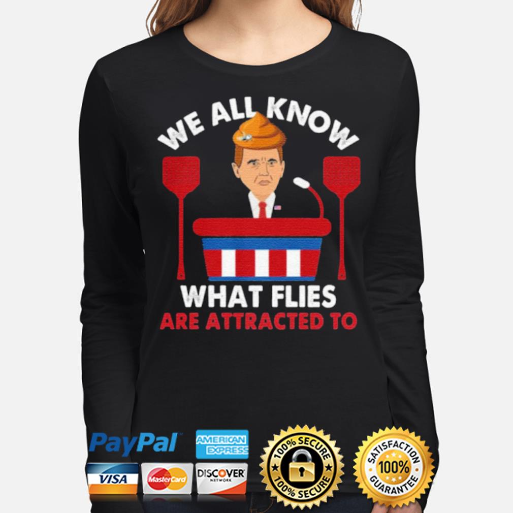 We All Know What Flies Are Attracted To Funny Pence 2020 VP Debate s long-sleeve