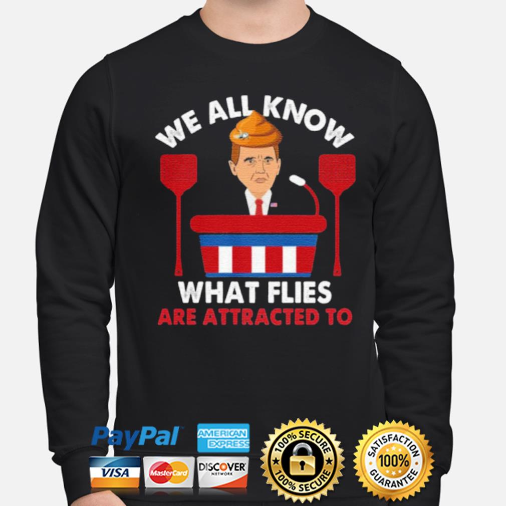 We All Know What Flies Are Attracted To Funny Pence 2020 VP Debate s sweater