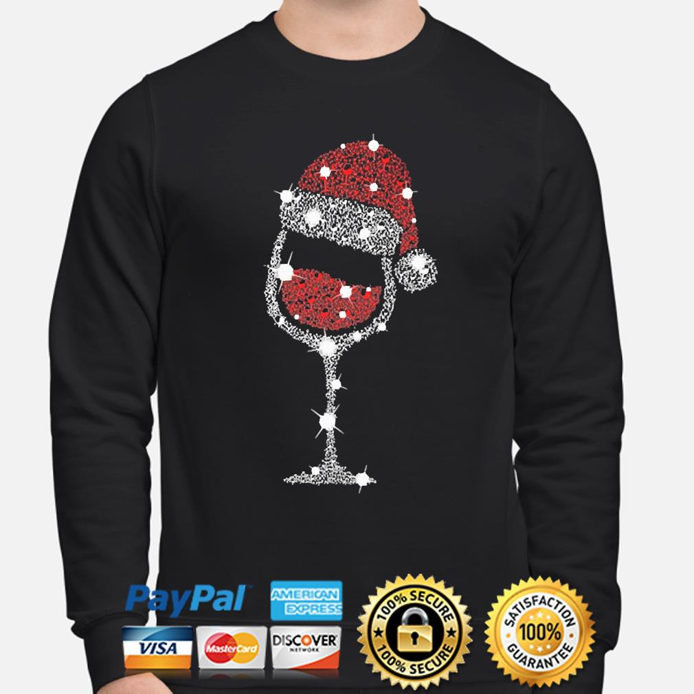 Wine Santa Ugly Christmas sweater sweater