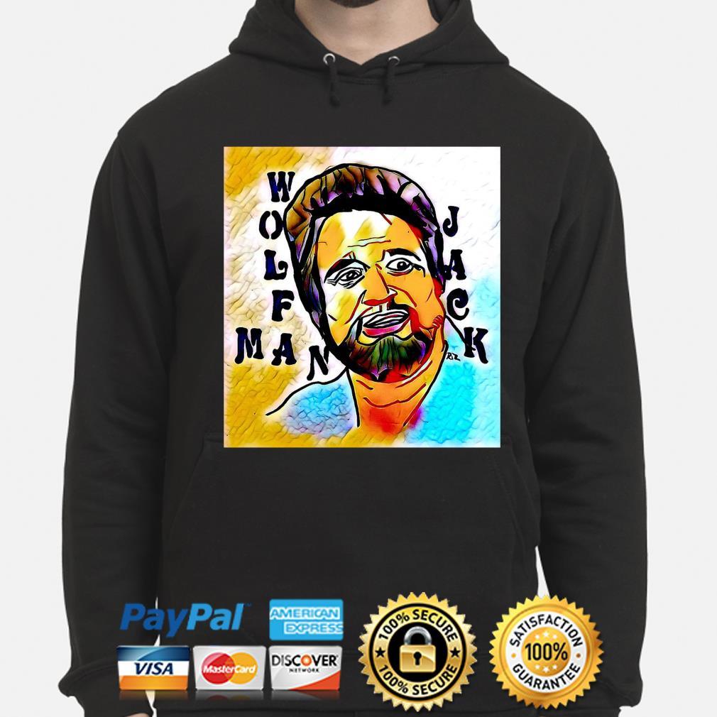 Wolfman Jack s hoodie