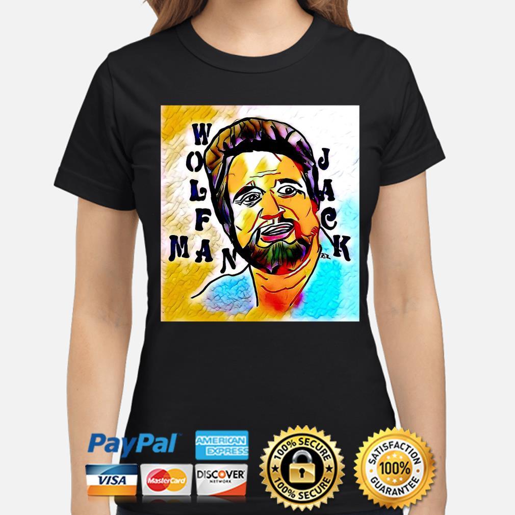 Wolfman Jack s ladies-shirt