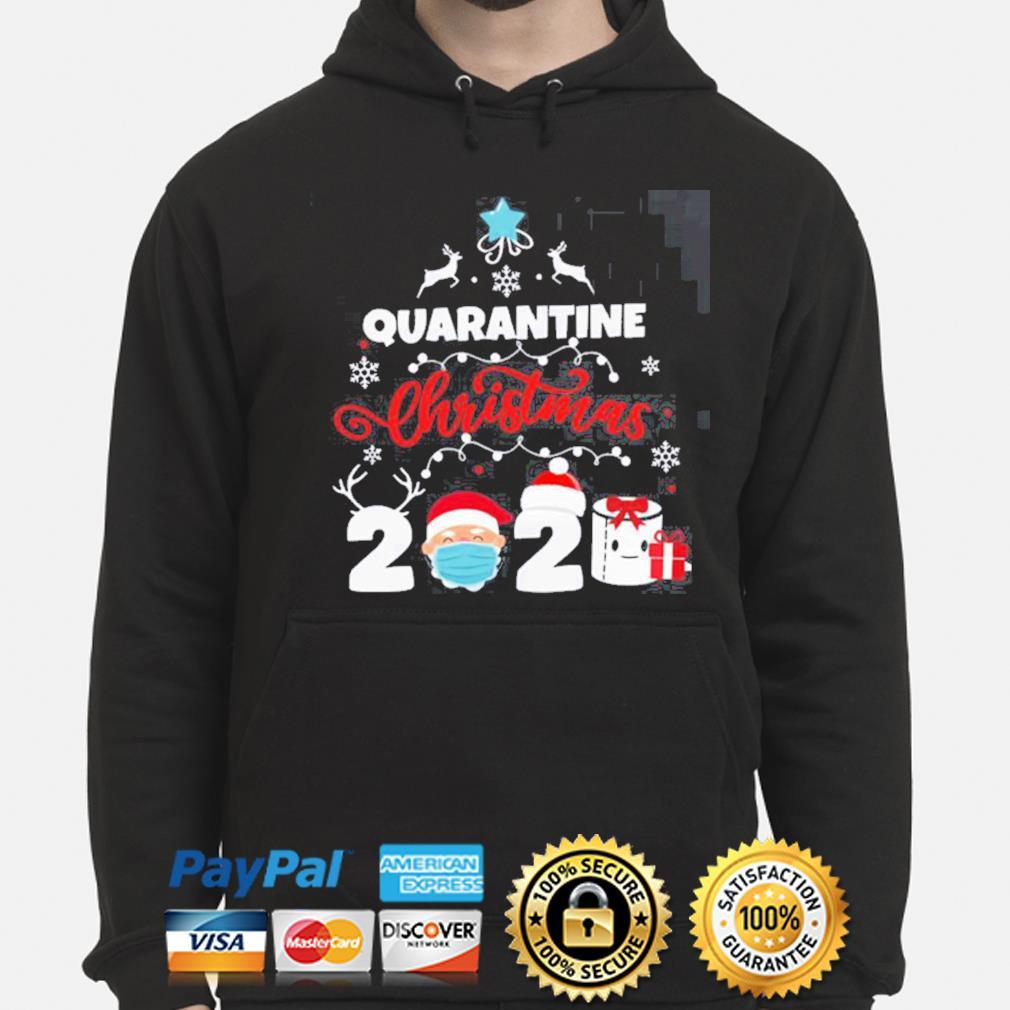 Xmas Quarantine Christmas 2020 Social distancing Christmas s hoodie