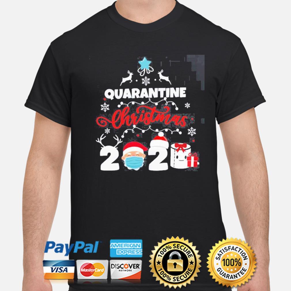 Xmas Quarantine Christmas 2020 Social distancing Christmas shirt