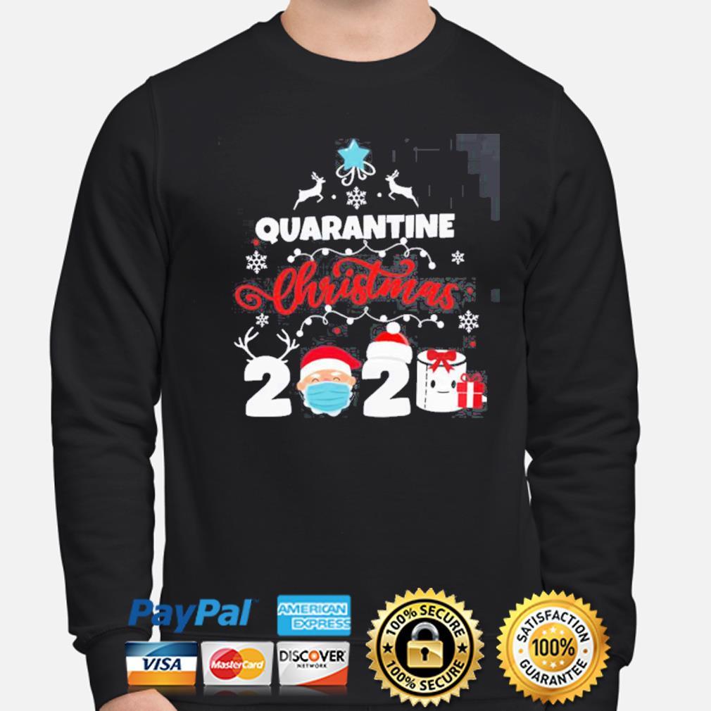 Xmas Quarantine Christmas 2020 Social distancing Christmas s sweater