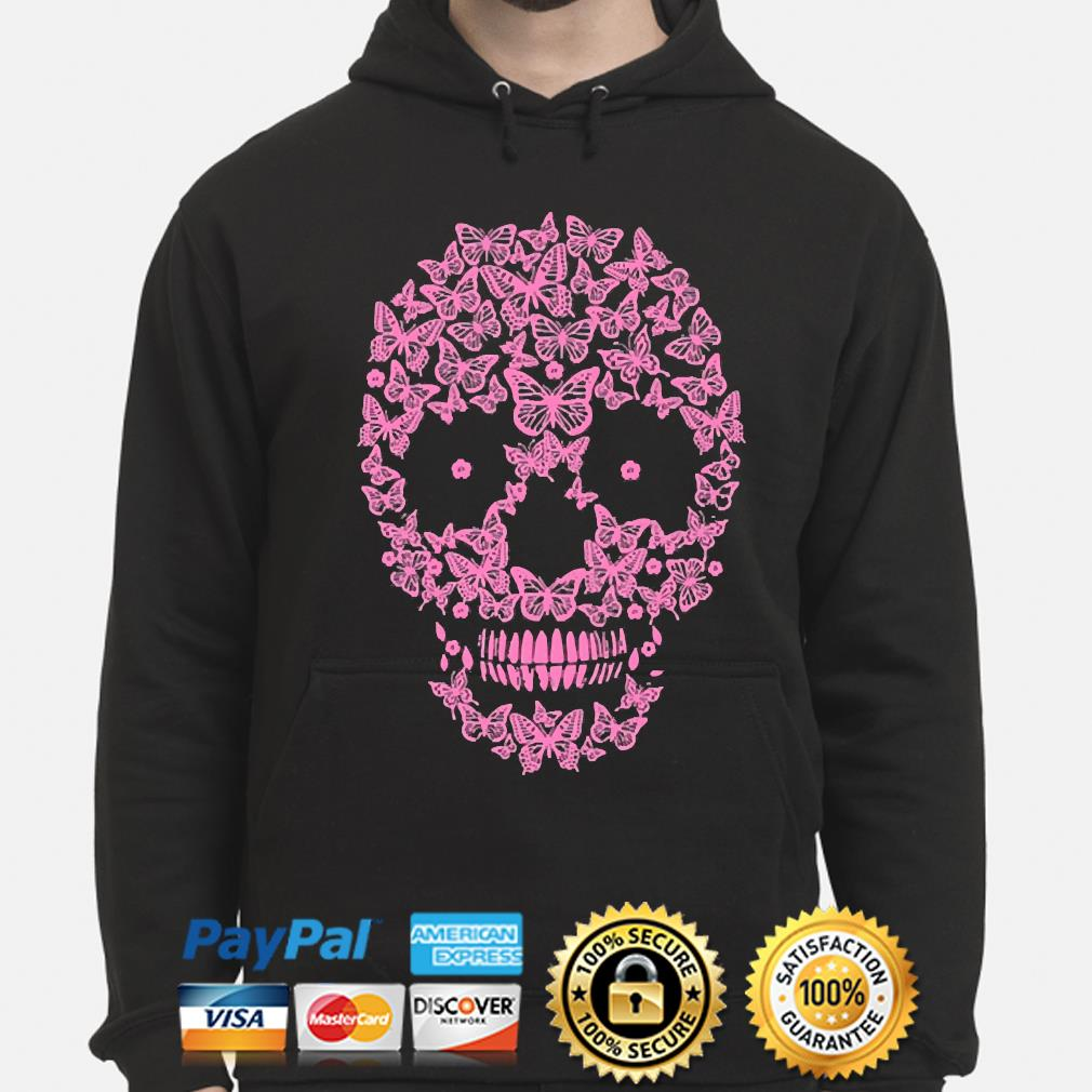 Official Skull Butterfly s hoodie