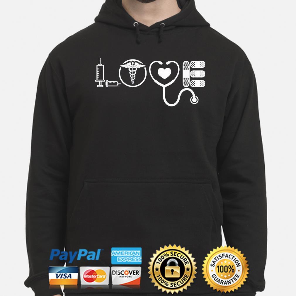 Love nurse cute Valentine 2021 s hoodie