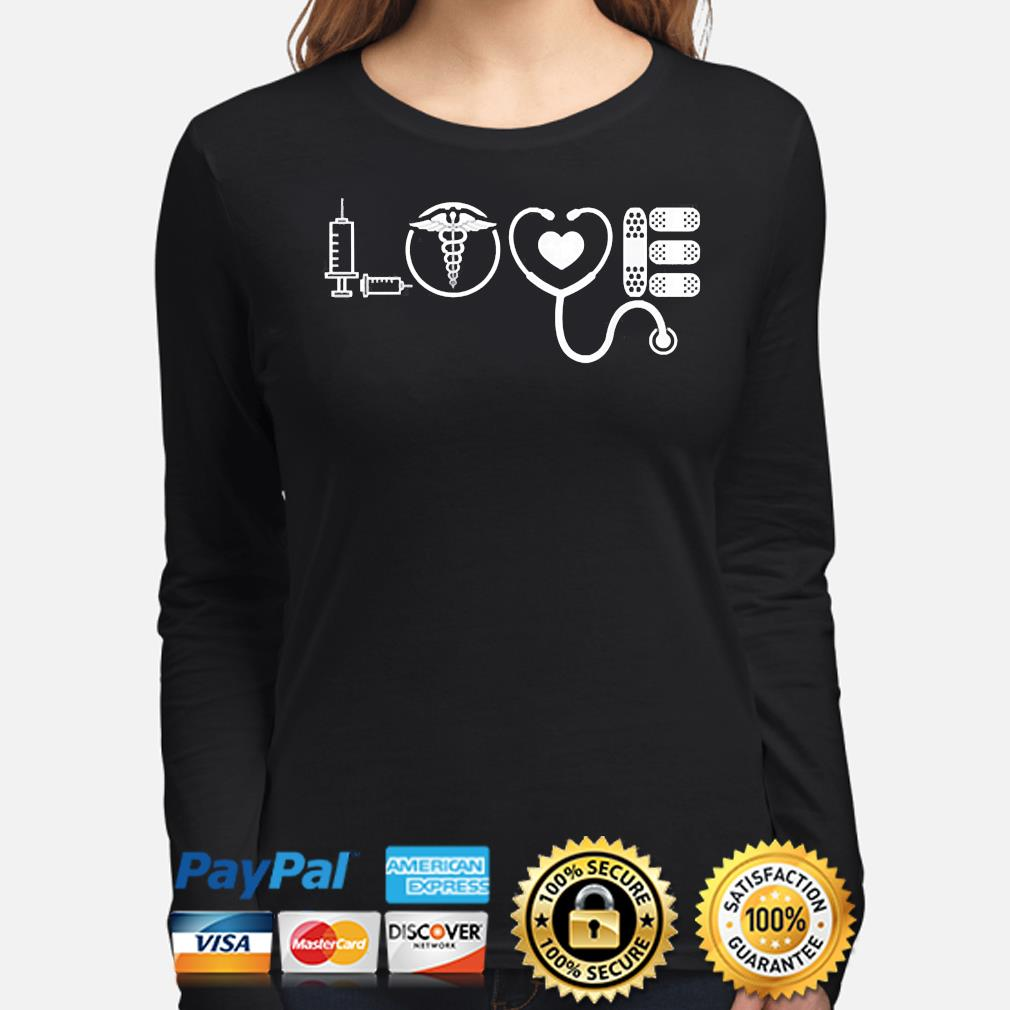 Love nurse cute Valentine 2021 s long-sleeve