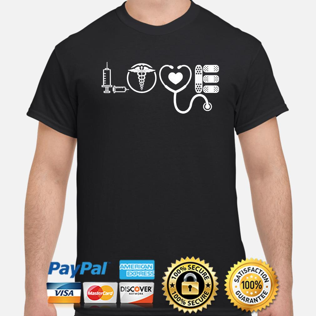 Love nurse cute Valentine 2021 shirt