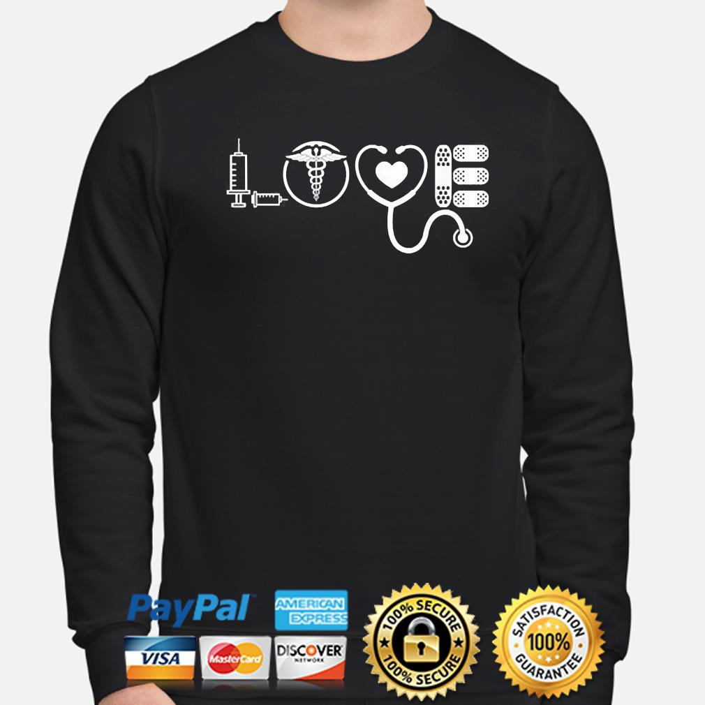 Love nurse cute Valentine 2021 s sweater