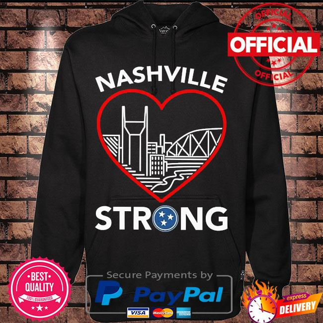 Nashville strong t-s Hoodie black