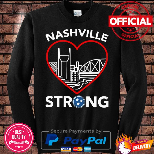 Nashville strong t-s Sweater black