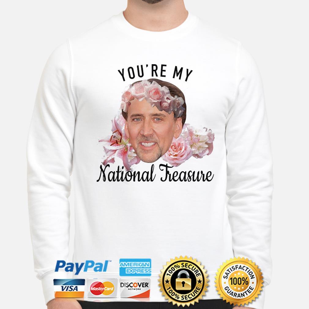 Nicolas Cage you're my National Treasure shirt