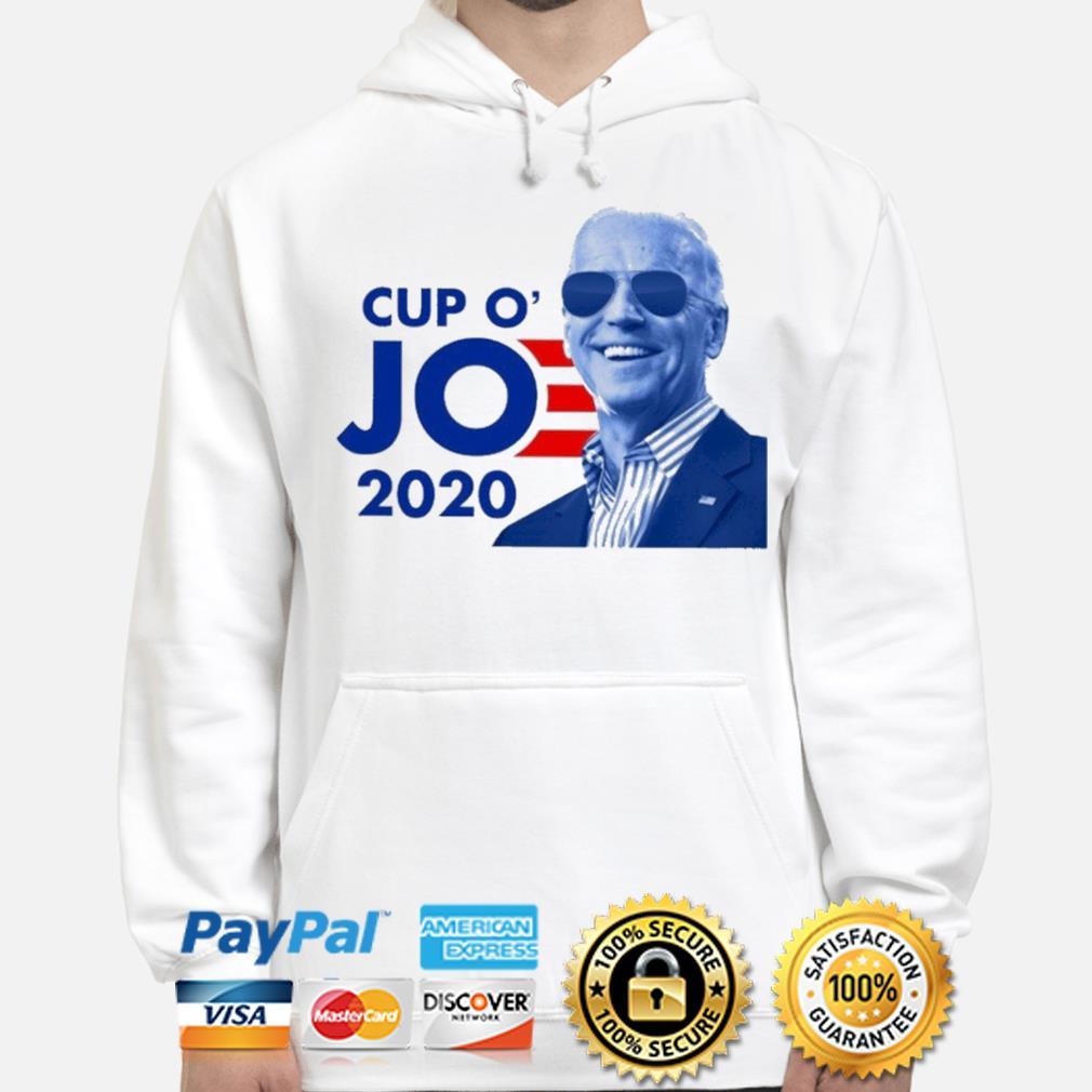 Official Joe Biden for president 2021 cup o jo democrat s hoodie