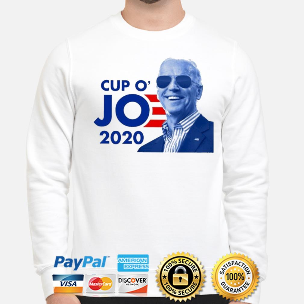 Official Joe Biden for president 2021 cup o jo democrat shirt