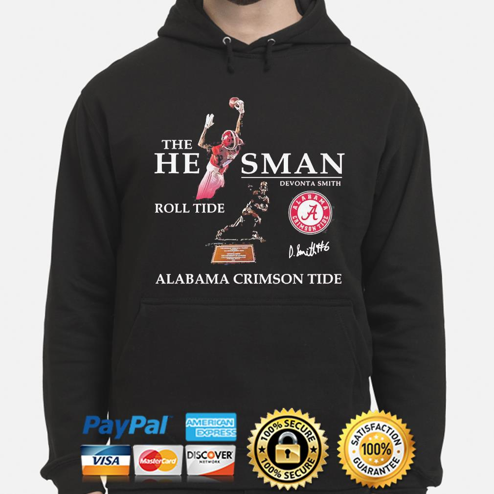 The he man devonta smith Roll Tide Alabama Crimson Tide s hoodie