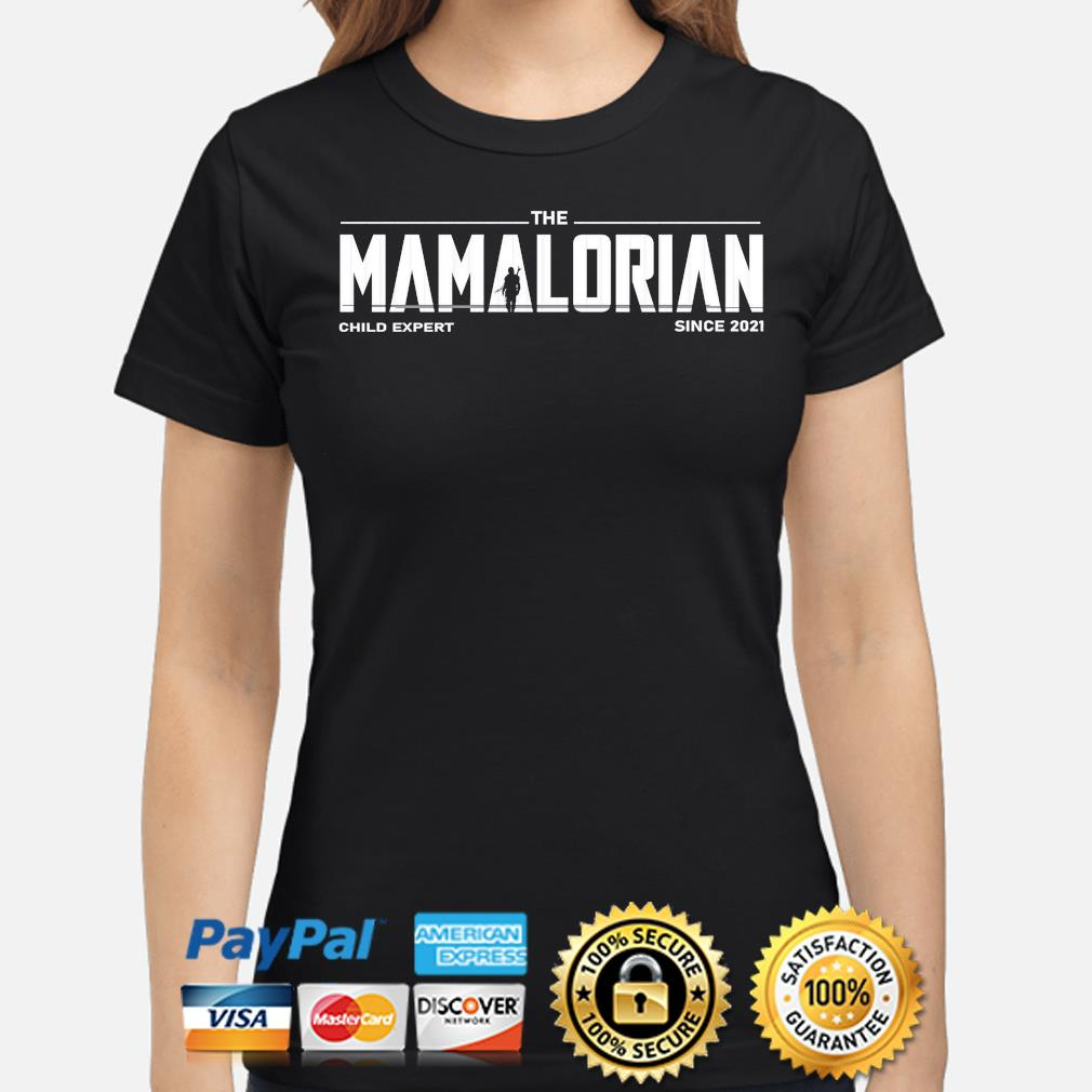 The Mandalorian child expert since 2021 s ladies-shirt