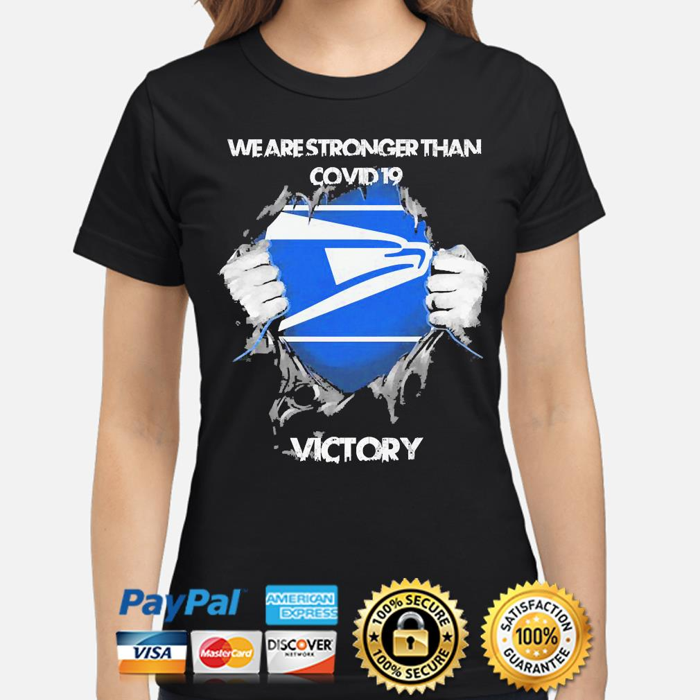 We are stronger than Covid 19 Victory s ladies-shirt