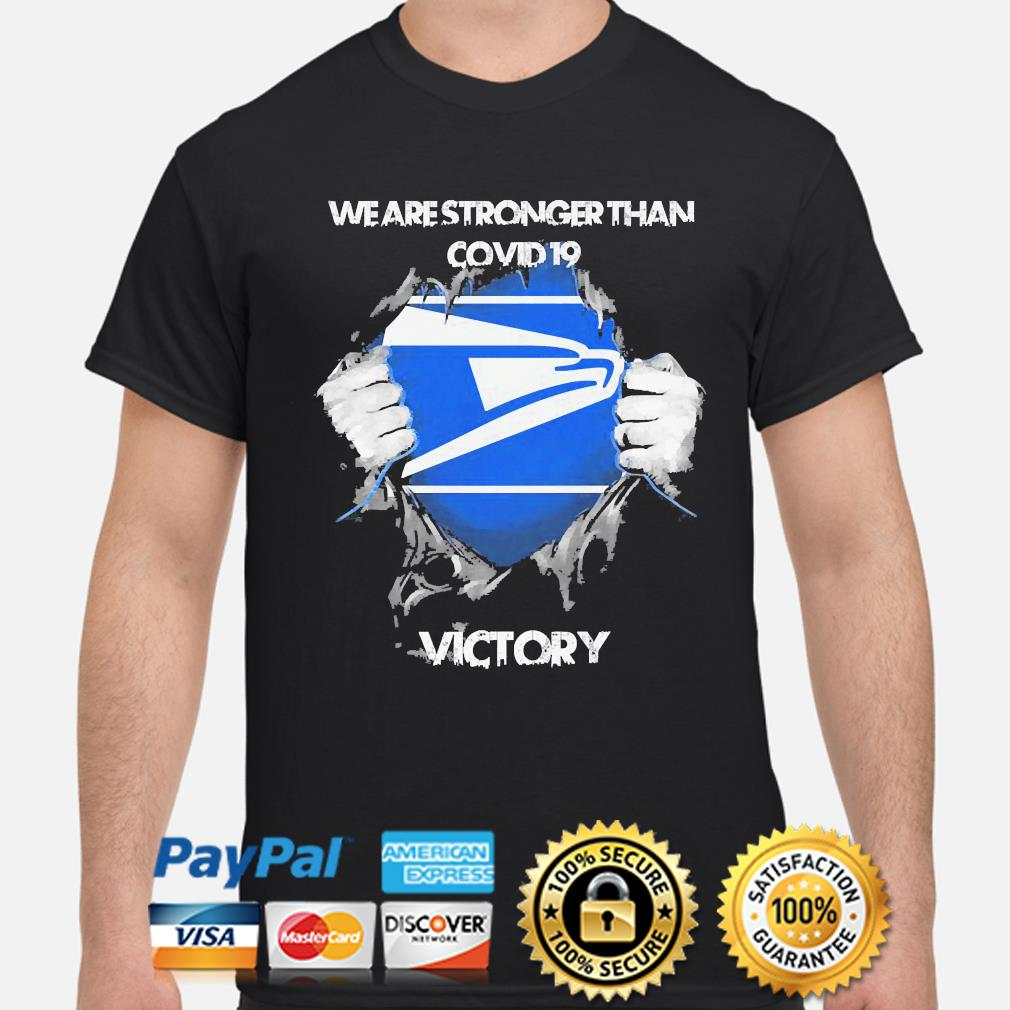 We are stronger than Covid 19 Victory shirt