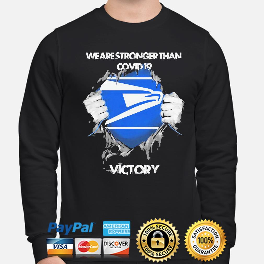 We are stronger than Covid 19 Victory s sweater